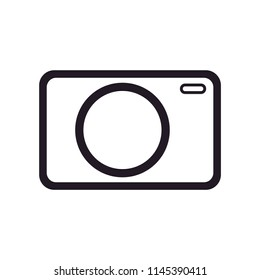 pocket camera icon vector