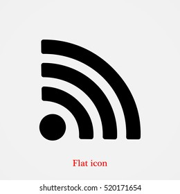 podcast icon, vector best flat icon, EPS