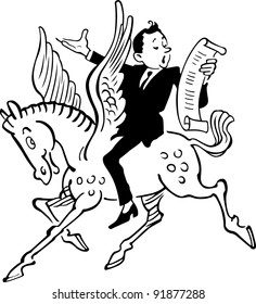 Poet on Pegasus