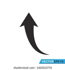 pointer, arrow icon vector design template
