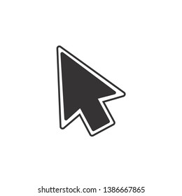 Pointer Arrow Icon Vector Illustration
