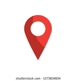 pointer gps map and navigation vector illustration