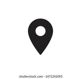 Pointer location icon vector illustration
