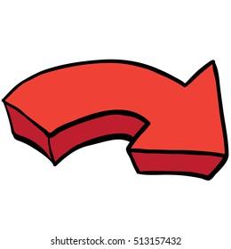 cartoon arrow images stock photos vectors shutterstock rh shutterstock com cartoon arrow bow cartoon arrow board
