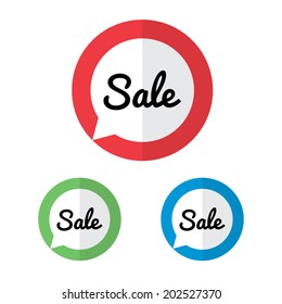 Pointing Sale Labels