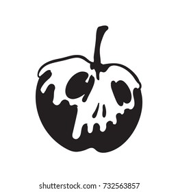 poison apple vector