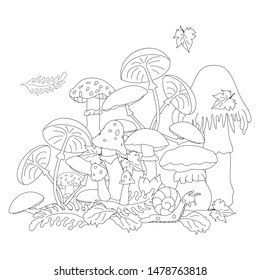 c84442f76112 Mushrooms Tattoo Images, Stock Photos & Vectors   Shutterstock