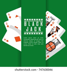 poker black jack cards casino deck gambling