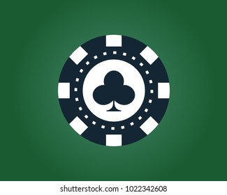 Poker Chips Icon Images Stock Photos Vectors Shutterstock