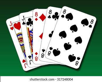 Poker hand - Full house