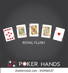 Poker Hands: Royal Flush