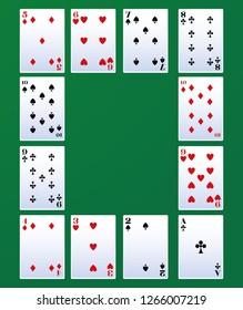 Poker leisure cards