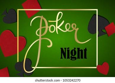Poker table. Poker game. Poker background. Poker cards.