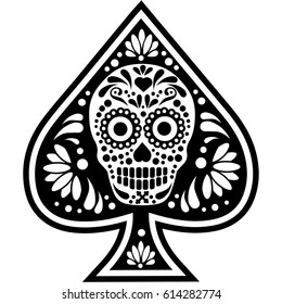 poker,playing card,  ace of,spades,