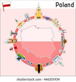 Poland - vector illustration