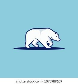 Polar Bear logo design inspiration