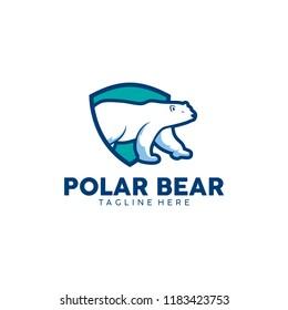 Polar Bear Logo Template