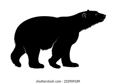 bear silhouette images stock photos amp vectors shutterstock