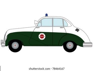 Police car 19