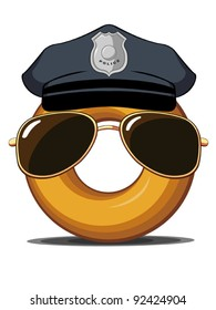 Police Donut