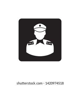 Police Icon Vector, Policeman vector