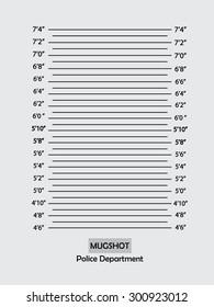 Police lineup or mugshot background,mugshot vector.vector illustration