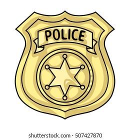 cartoon gold police badge images stock photos vectors shutterstock rh shutterstock com police badge cartoon pic Food Police Badge