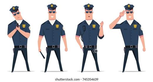 Cartoon Police Images, Stock Photos & Vectors