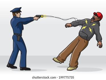 Police Tasing