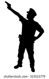 Policeman, vector