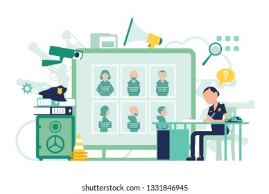 Ilustraciones, imágenes y vectores de stock sobre Police Officer