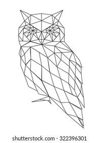 poligonal owl
