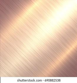 Polished metal texture, steel brushed metallic background, vector illustration.