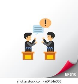 Political Debates Icon