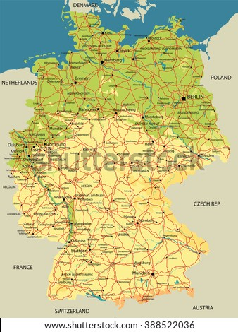 Map Of Germany Lakes | www.genialfoto.com