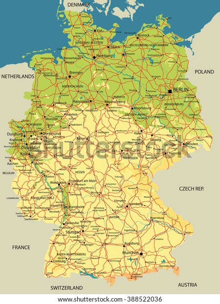 Political Map Germany Relief Cities Lakes Stock Vector ... on geographical map of germany, geographic map of germany, regional map of germany, social map of germany, geological map of germany, physiological map of germany, strategic map of germany, topological map of germany, industrial map of germany, linguistic map of germany, tactical map of germany, topographical map of germany, operational map of germany, religious map of germany, language map of germany, ethnic map of germany, commodities map of germany, fiscal map of germany, global map of germany, economic map of germany,