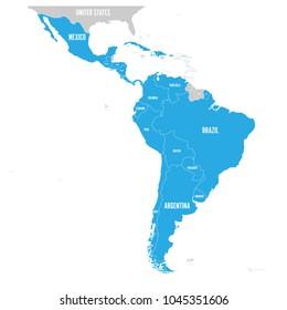 Spanish Speaking Countries Map Görseller, Stok Fotoğraflar ...