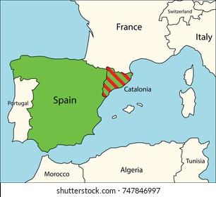 Iberia Map Images, Stock Photos & Vectors   Shutterstock on