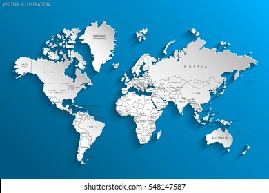 Europe map images stock photos vectors shutterstock political map of the world gray world map countries vector illustration gumiabroncs Image collections