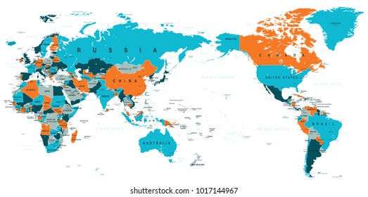 Middle East Europe Map Images, Stock Photos & Vectors ...