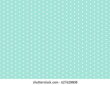 Polka dot pattern vector. Baby background. Eps10.
