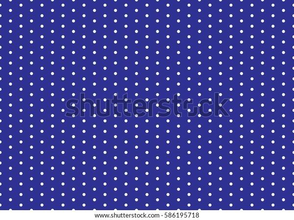 Polka dot pattern vector. Vintage background. Eps10.