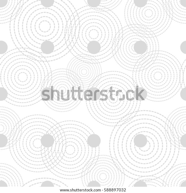 Polka dot seamless pattern. Print. Repeating background. Cloth design, wallpaper.