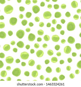 Polka dot seamless pattern. Vector.