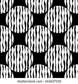 Polka dot seamless pattern. Vector illustration. Textile rapport.