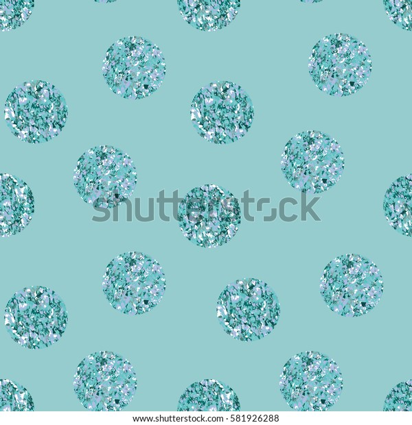 Polka dot seamless pattern. Vector background.