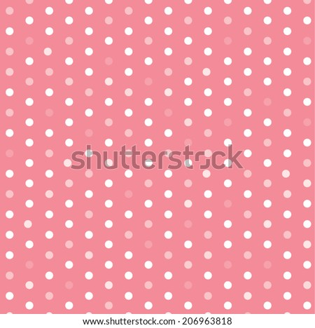 polka dot template vector design stock vector royalty free
