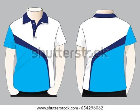 Polo Shirts Design   Polo Shirt Design Stock Vektorgrafik Lizenzfrei 654296062