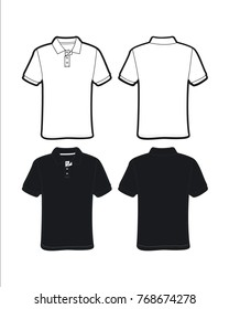 Golf Shirt Template Images Stock Photos Vectors Shutterstock - Design a shirt template