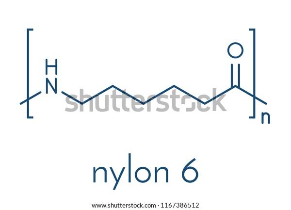 Vector de stock (libre de regalías) sobre Polycaprolactam